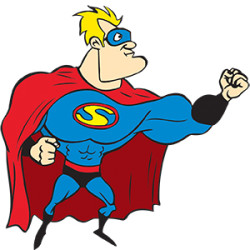 picture of Kids Party Entertainment Superhero Cartoon character